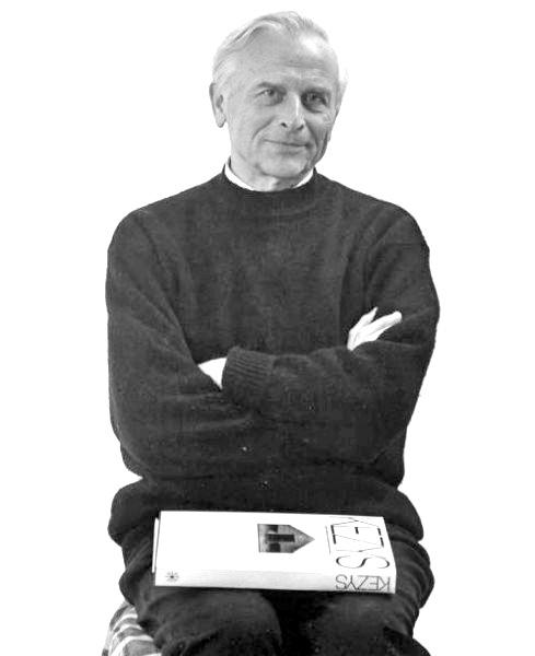 Šis A. Kezio portretas panaudotas parodos pristatymui.