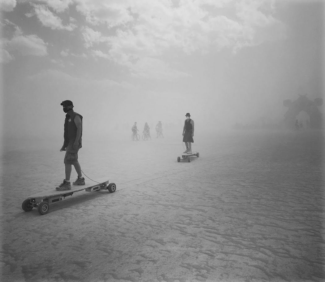 """""""Burning Man"""" festivalis."""