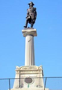 The Koščiuška Monument at West Point.
