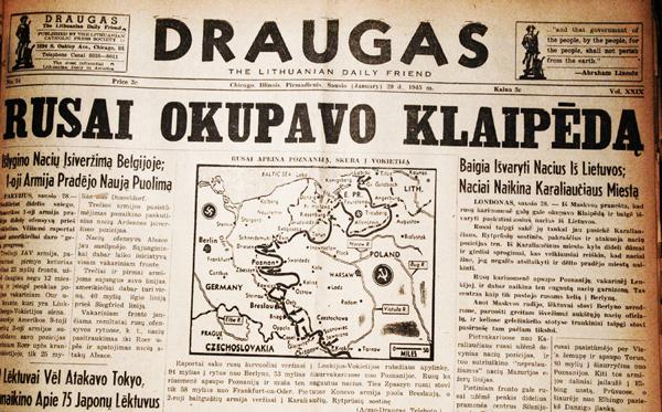 Russians occupy Klaipėda. January 29, 1945