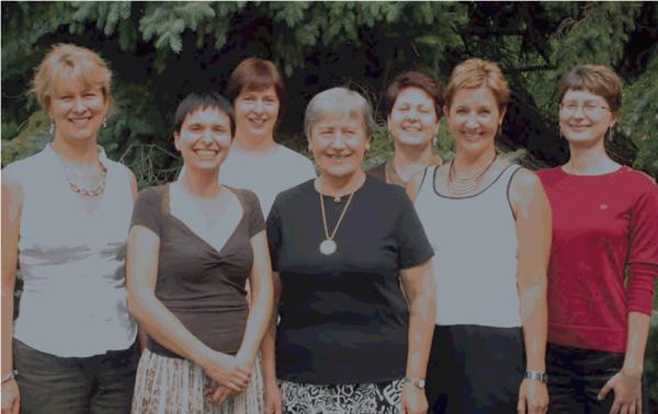 Editorial staff in 2009. (From left): Ina Stankevičienė, Layout Designer; Dalia Cidzikaitė, Editor-in-Chief; Loreta Timukienė, Editor; Onutė Gintautienė, Typesetter; Laima Apanavičienė, Editor; Dalia Sokienė, Proofreader; Aurelija Tamošiūnaitė, Part-time Editor. Missing from photo: Jonas Kuprys, Technical Editor.