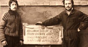 Memorialinė lenta.