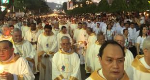 Eucharistinė procesija.