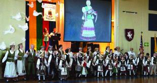 """Nuotaikinga šokių grupės ,,Rusnė"""" programa."""
