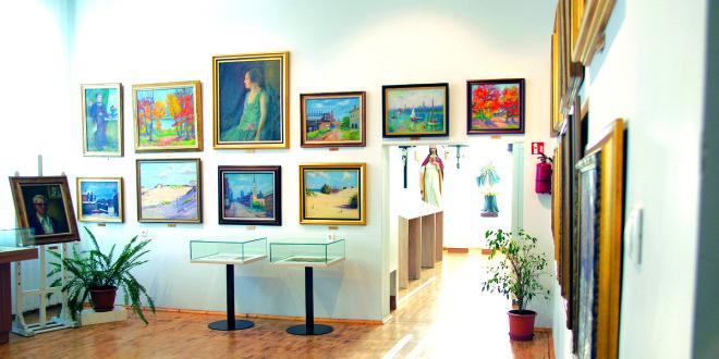 Nuolatinė Miko Šileikio galerijos ekspozicija.