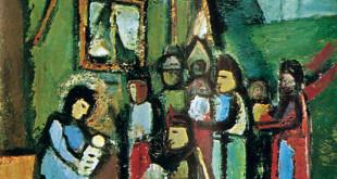 Triptikas – dail. Pranas Domšaitis.