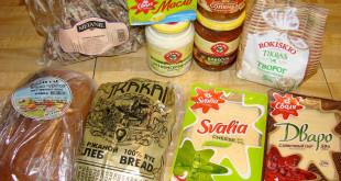 Lietuviški produktai rusiškoje parduotuvėje Philadelphijoje.