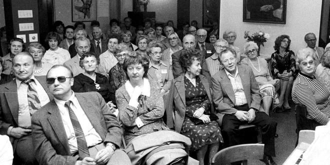 Poezijos dienos 1980 m. Jaunimo centre Čikagoje.