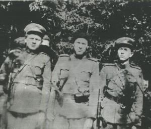 Pečiulaičių šeimos partizanai.