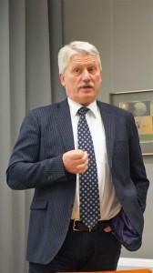 Prof. E. Aleksandravičius dalinosi įsimintinos kelionės įspūdžiais.
