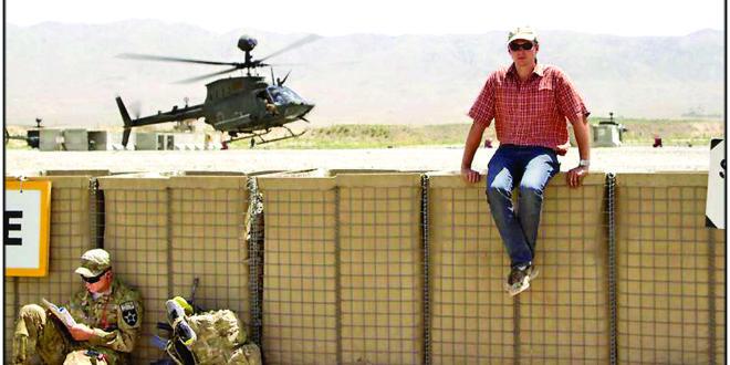 Pirmoji M. Bekešiaus užsienio diplomatinė tarnyba – 3.5 metų Afganistane.