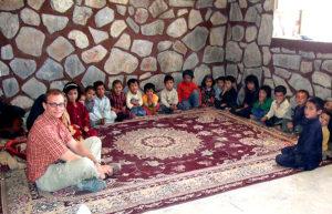 Afganistane, vienuose iš vaikų namų, kur gyvena tėvų netekę mažyliai.