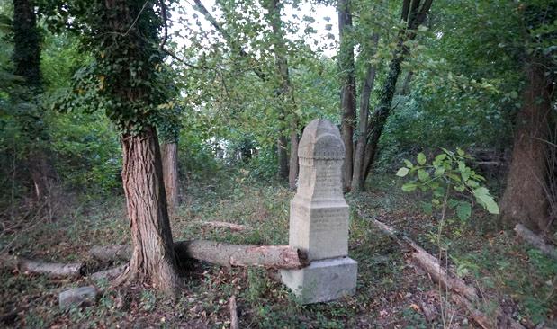 Bensalem lietuvių kapinėse – medžiais apaugę, apdaužyti ir išvartyti lietuvių antkapiai.