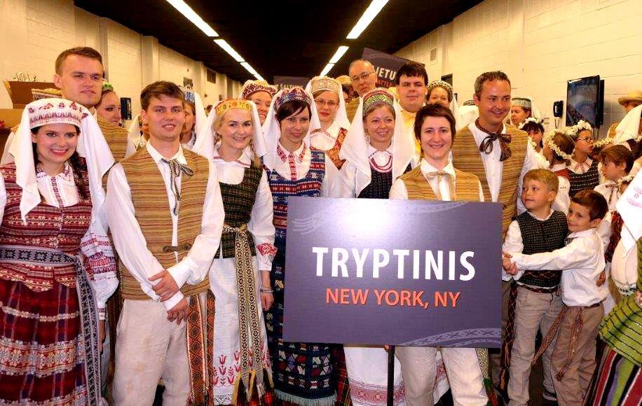 """Julius Pranevičius kartu su New Yorko šokių grupe """"Tryptinis"""" dalyvavo Baltimorėje vy- kusioje šokių šventėje."""