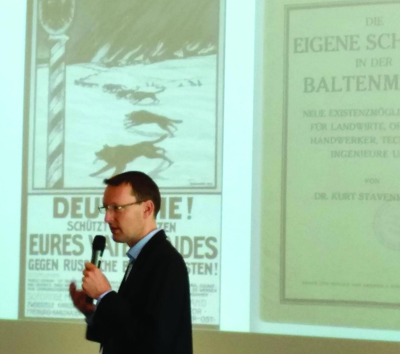 Sankelmarko akademijos ir seminaro vadovas Ch. Pletzingas.
