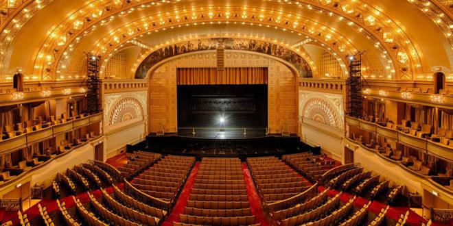 Didingoje Auditorium Theatre scenoje netrukus bus rodomas didingas lietuviškas spektaklis.