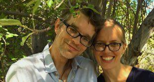 Su žmona Meghan.