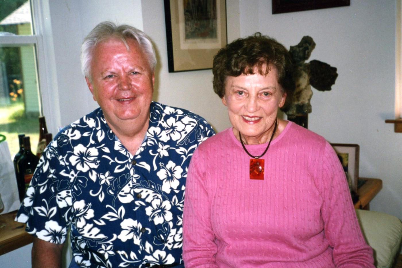 Ilgamečiai kolegos: DF iždininkas Leopoldas von Brown ir DF pirmininkė Marija Remienė.